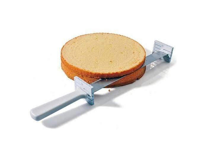 Cuchillo reposteria para cortar tartas en capas 32 cm