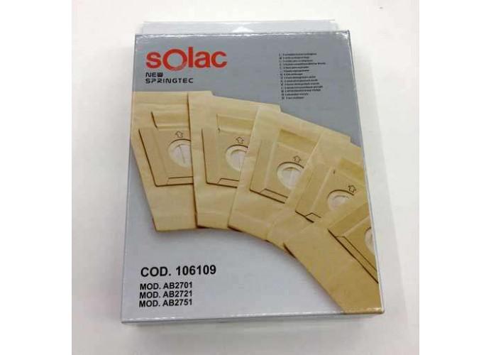 Solac AB2701 AB2721 AB2751 vacuum cleaner bags
