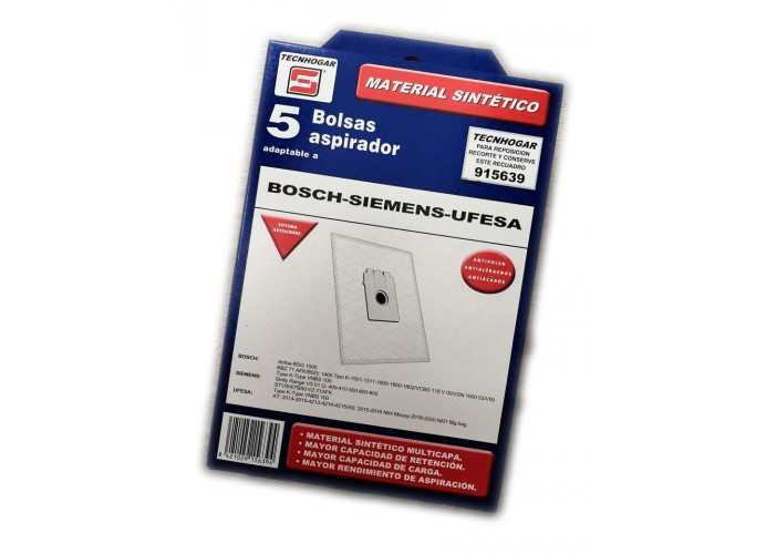 Bolsa Tecnhogar Compatible Bosch 915639