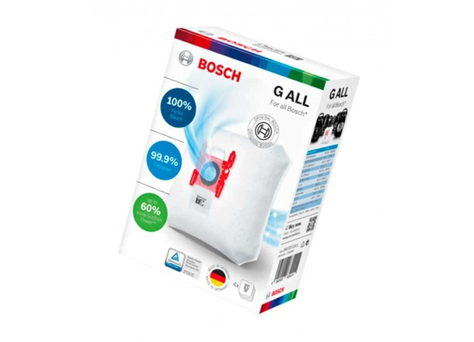 Vacuum cleaner bags Bosch type G ALL