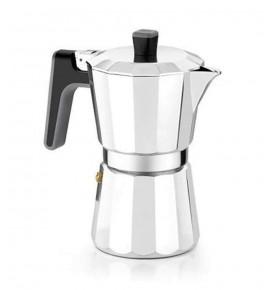 Coffee maker Aluminium Bra Perfect 6 Cups Induction