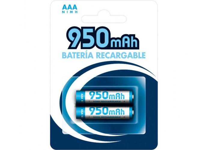 2 BATERIAS NI-CAD 1,2v 950mA AAA