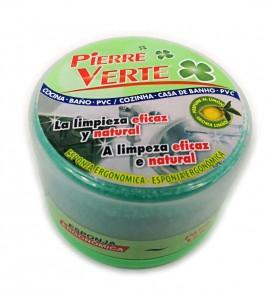 Pierre vert nettoyage polissage métaux