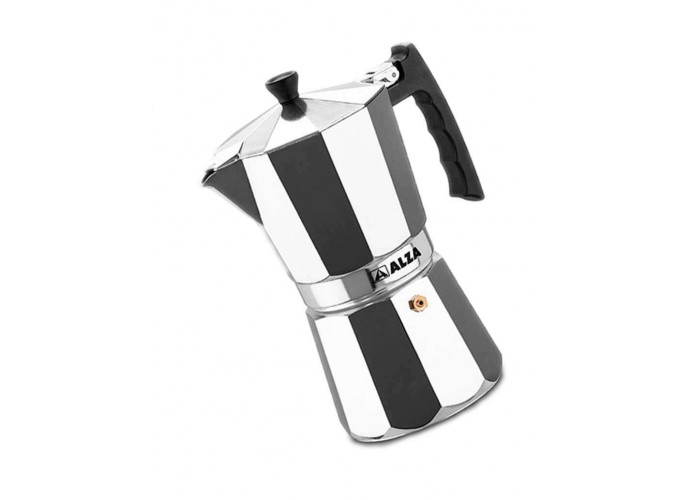 Cafetera Italiana Full Inducción Alza Luxe 6 tazas