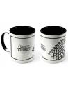 Taza Ceramica Juego de Tronos Casa Stark interior negro