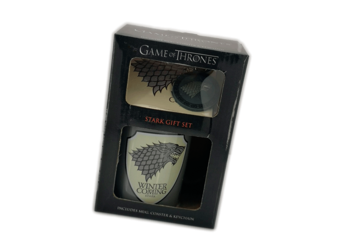 Caja Regalo Juego de Tronos Stark