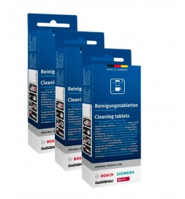 Cleaning tablets for Bosch coffee makers