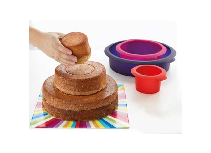 Molde para cake huecos Lékué