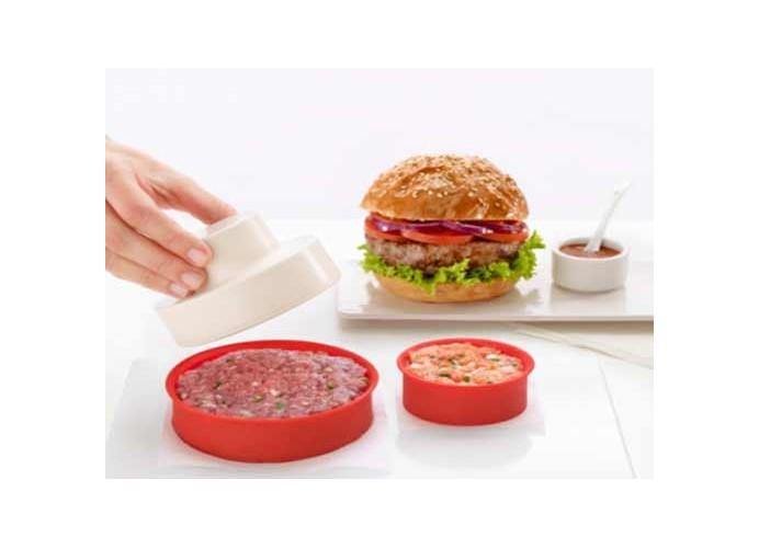 Molde para hamburguesas Lékué