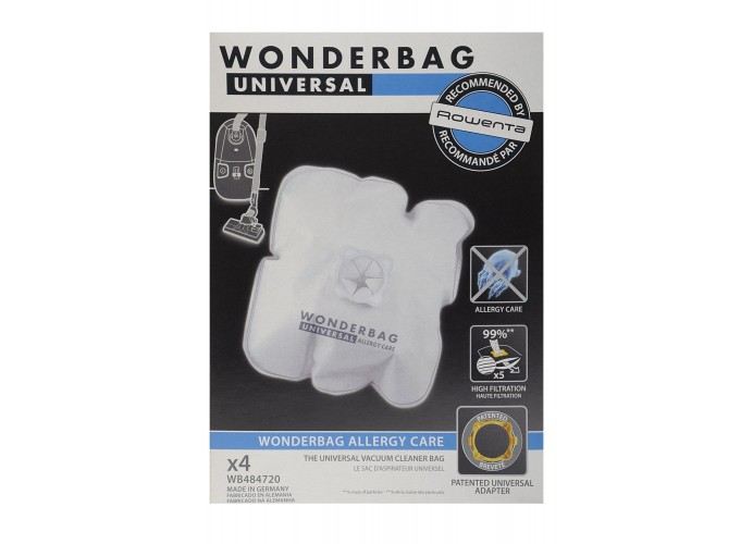 Bolsas Wonderbag allergy care Rowenta x4