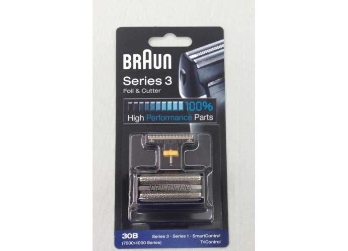Repuesto de cuchillas y lamina afeitadora Braun Series 3