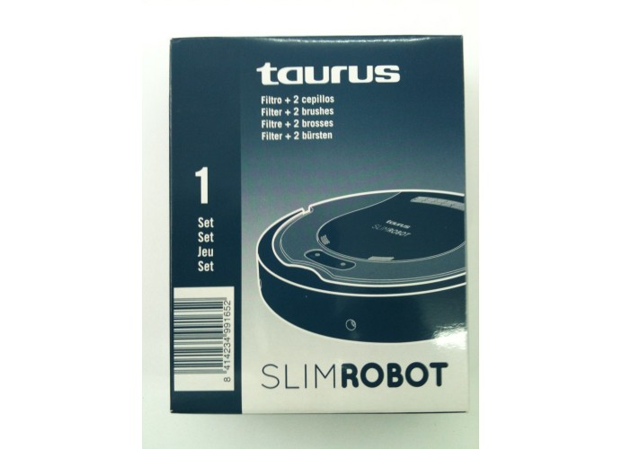 Set Filtro+Cepillo robot Taurus Slimrobot