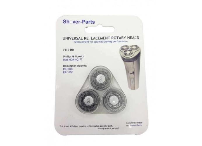 Recambio generico de cabezal y cuchilla para maquina de afeitar Philips Q8