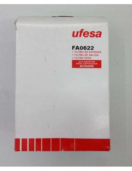 Filtros aspirador Ufesa FA0622 para modelos AC6200