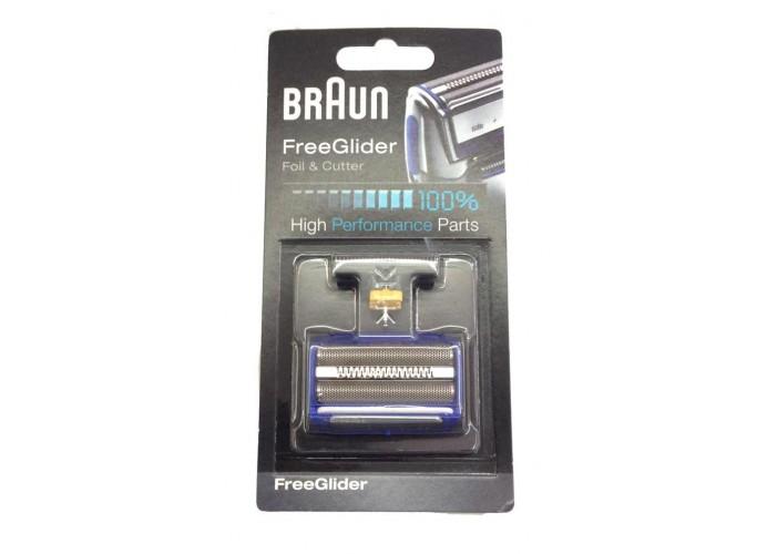 Lamina maquinilla afeitar Braun Freeglider