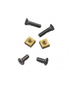 Set screws handle pot fast