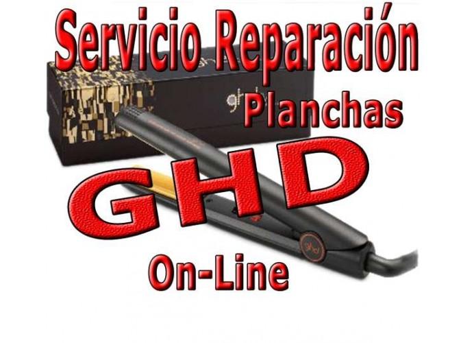 Servicio Reparación planchas de pelo GHD