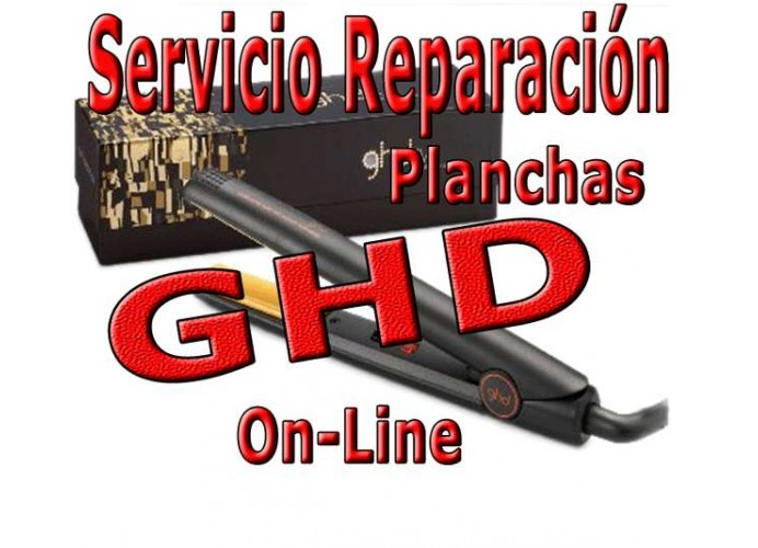 GHD hair irons repair service