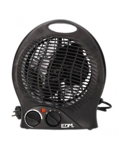 Imagen de Calefactor Vertical EDM Negro 2000w en Servimenaje