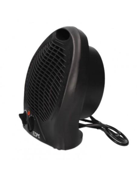 Calefactor Vertical EDM Negro 2000w
