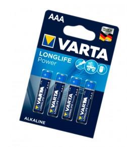 4 Pilas Alcalinas Varta LR6 AA Long Life