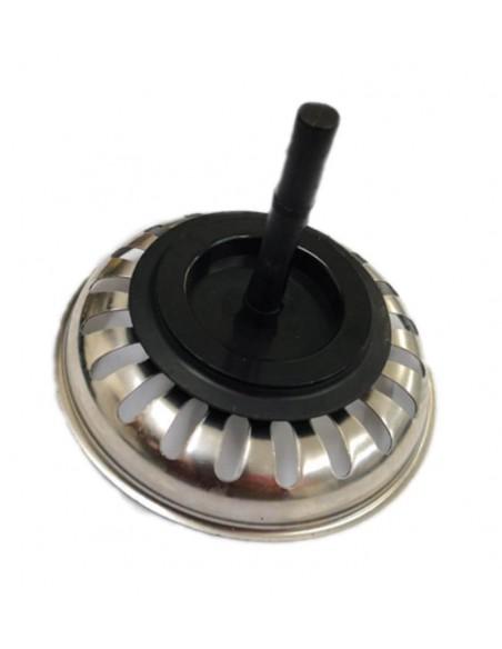 Imagen de Rejilla tapón fregadero eje plástico 50mm en