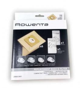 Rowenta Compacteo vacuum cleaner bags