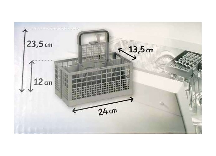 Universal dishwasher basket
