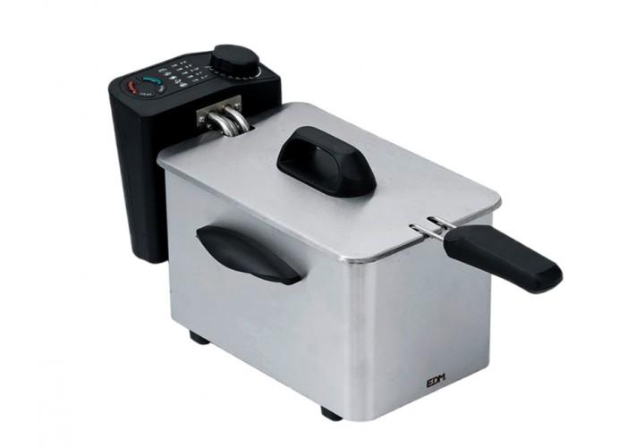 Imagen de Freidora eléctrica 2,5 Litros EDM 2000w en Servimenaje