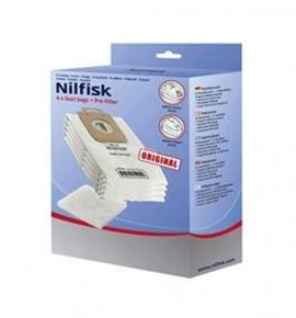 Vacuum cleaner Nilfisk Power and Select bags