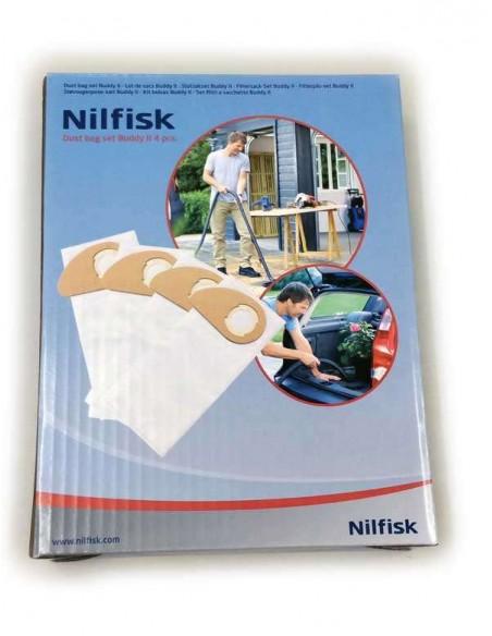 Imagen de Bolsas Originales para aspirador Nilfisk Buddy