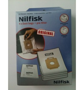 Nilfisk vacuum cleaner bags series Extreme & King