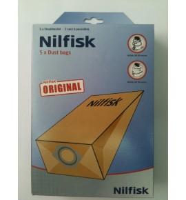 Imagen de Bolsas aspirador Nilfisk serie GM80 GM90 recambio