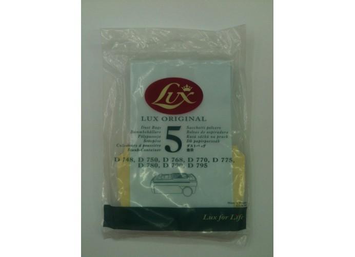 Sacs d'aspirateur Lux D775