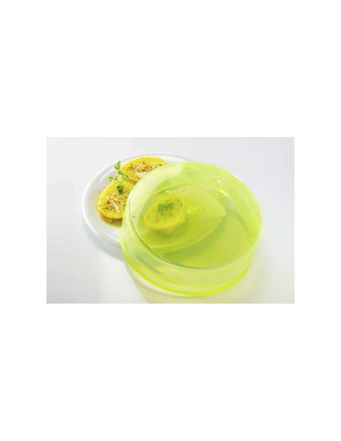 Tapa microondas plegable de silicona pinfi - Silicona para microondas ...