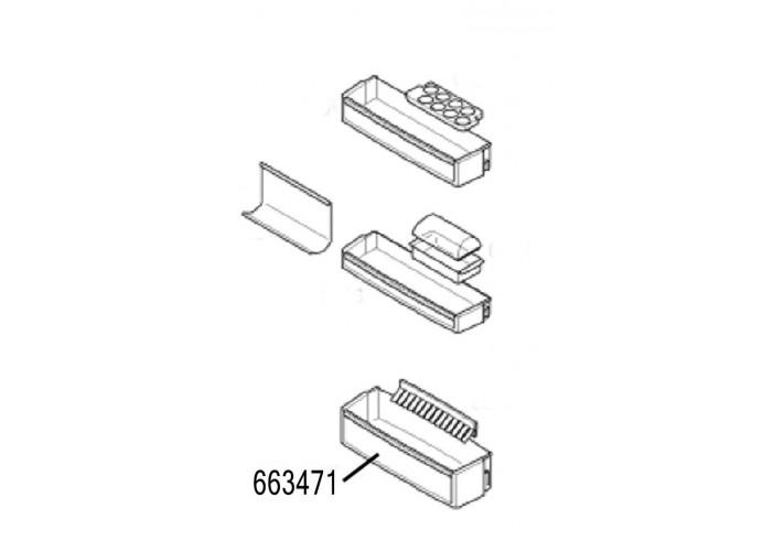 Réfrigérateur de stockage vin bac Bosch KGN39A73