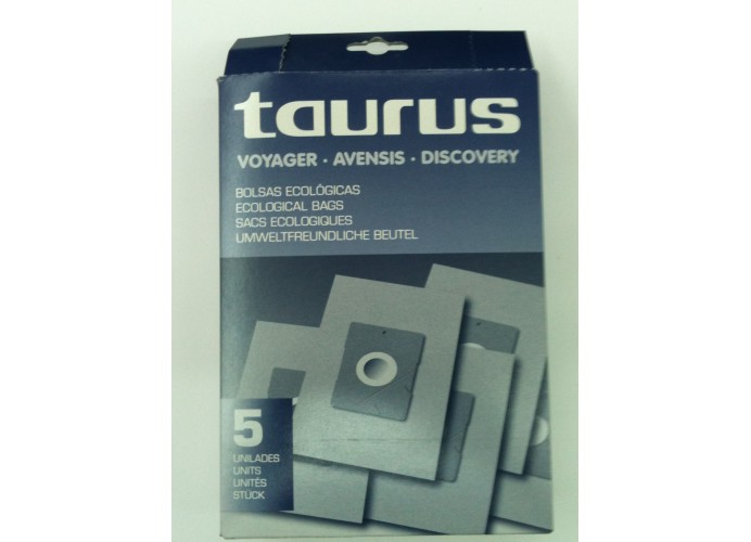 Vacuum cleaner bags Taurus Voyager, Avensis, Discovery