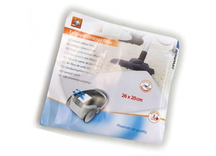 Filtro aspirador universal de entrada