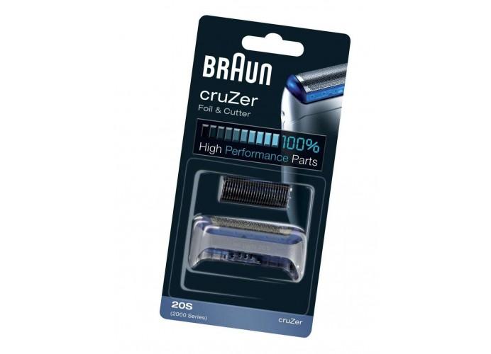 Lamina maquinilla afeitar Braun 20S 2000 SERIES