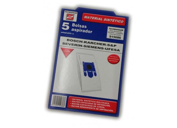 Bolsa aspirador SILEX compatible Nº 734