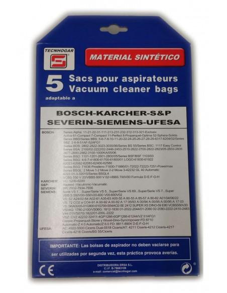 Bolsa aspirador compatible Nº 734