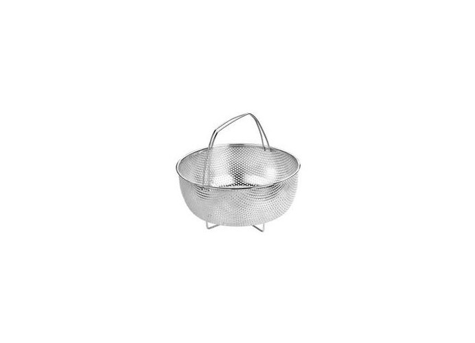Basket stainless steam pot. 22 cm