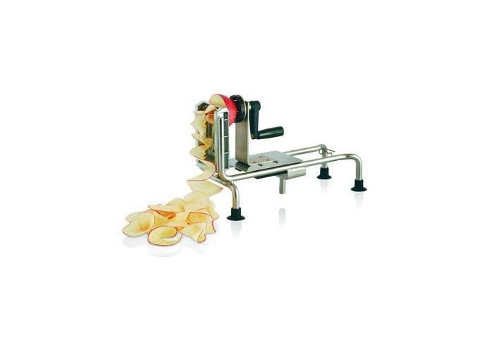 Machine for vegetable spirals