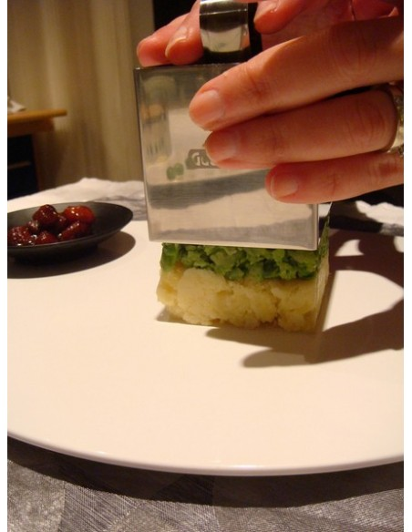 Molde-Cortapasta apretador rectangular de arroz