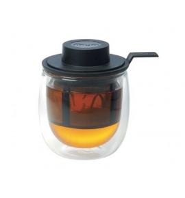 Taza de té con filtro permanente