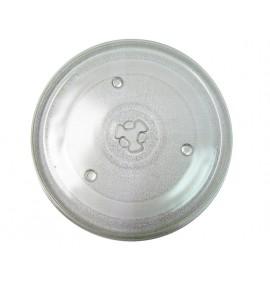 Plato microondas giratorio 25,5 cm