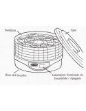 Electric dehydrator fruits and vegetables