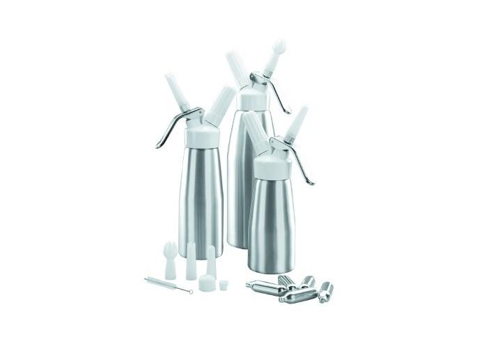 Sifón cremas aluminio 0,25L