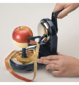 Vertical fruit peeler
