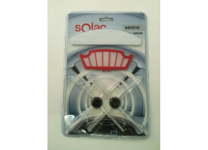 Filtros cepillos aspirador Solac AA3400